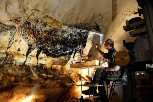 Facsimile  2 International cave arts museum, Lascaux IV, at Montignac Southern France