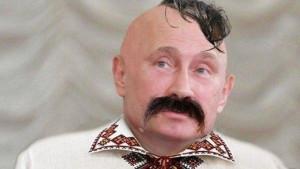 Putin as a Cossack