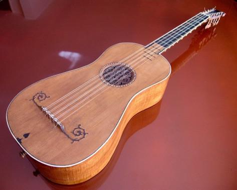 Sabionari Guitar made by Stradivari in 1679
