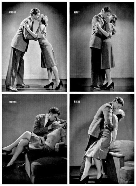 Guide Kissing 1942
