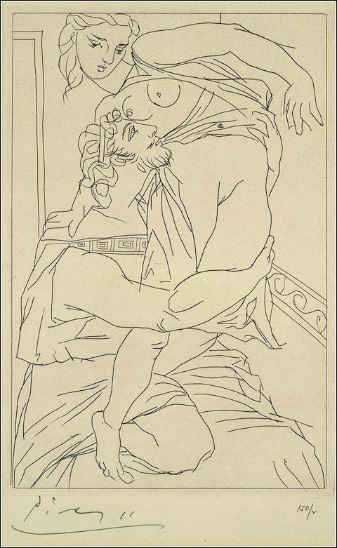Picasso as Illustr 2