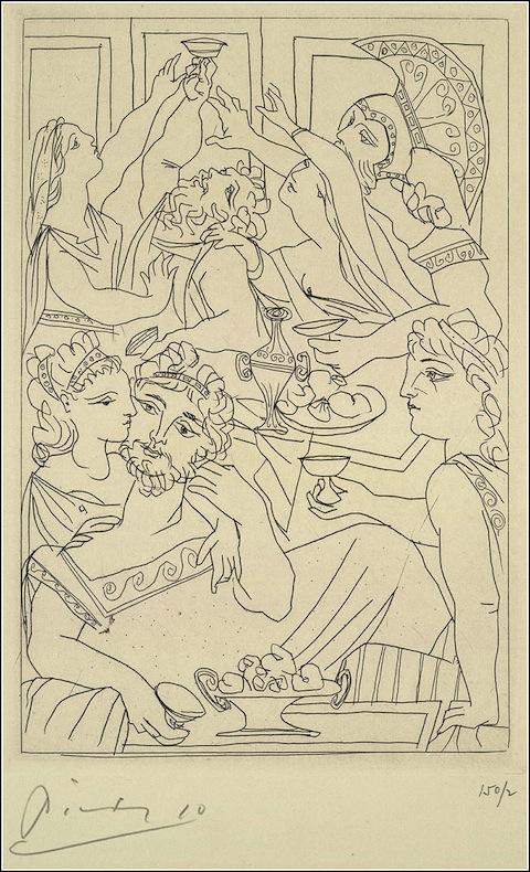 Picasso as Illustr 4