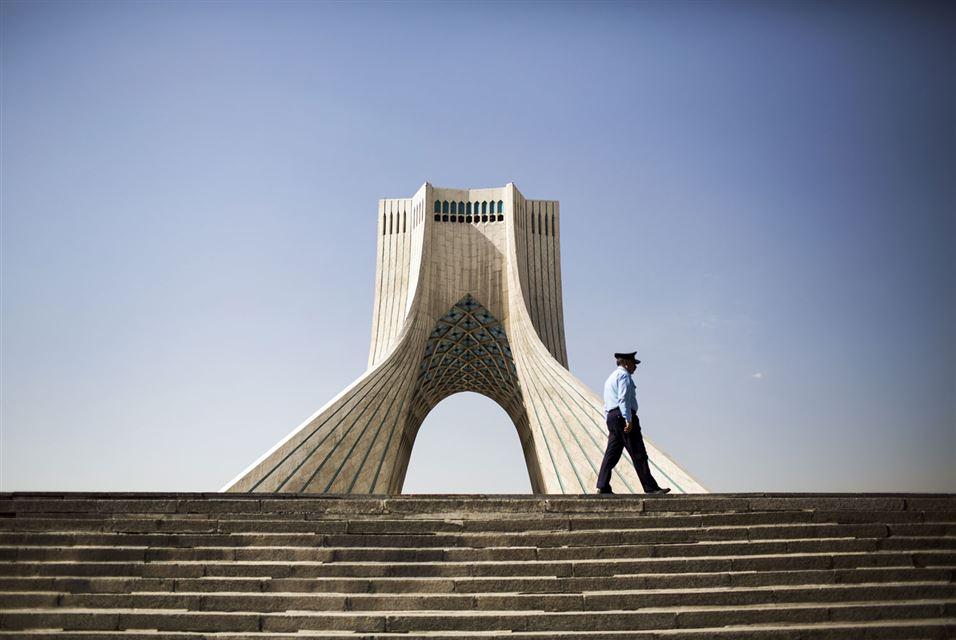 Azadi Tower in Tehran February 2016