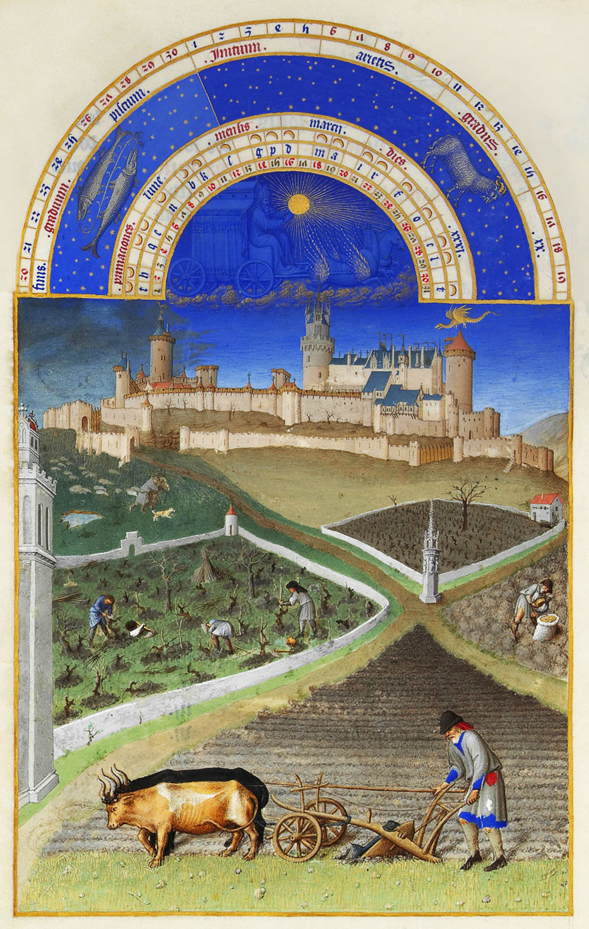 Limburg Bros. Très Riches Heures du Duc de Berry March