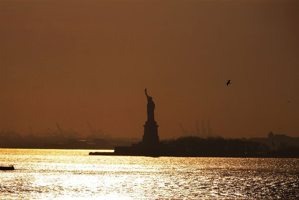 Statue of Liberty in NY March 8 2016