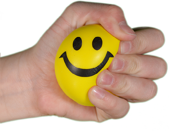 Stress Ball Smiley
