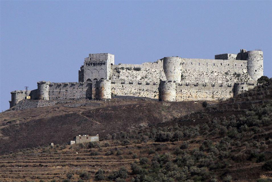 Krak des Chevaliers castle Homs