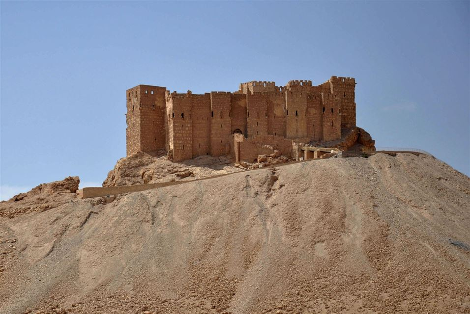 Castle of the Syrian city of Palmyra