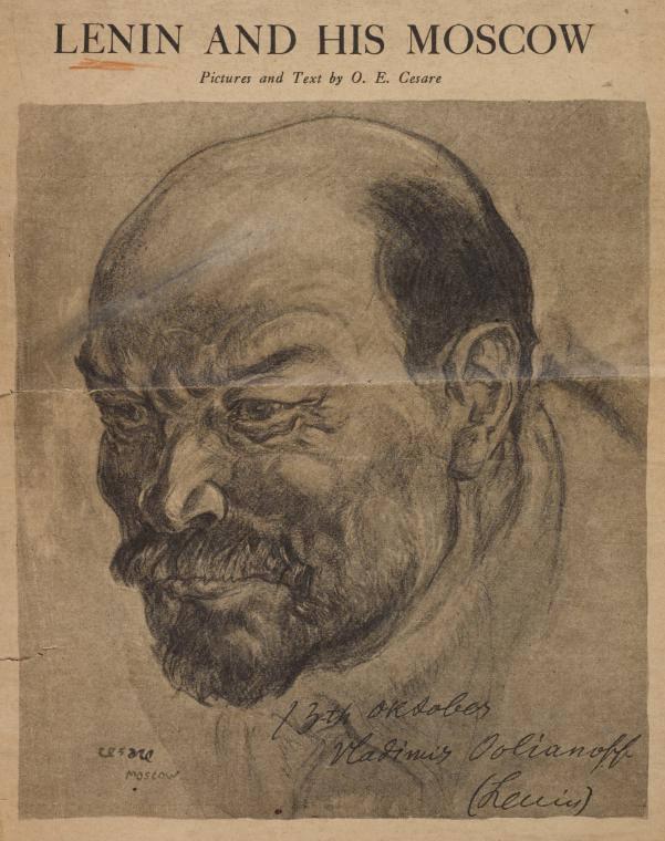 Lenin by Cesare