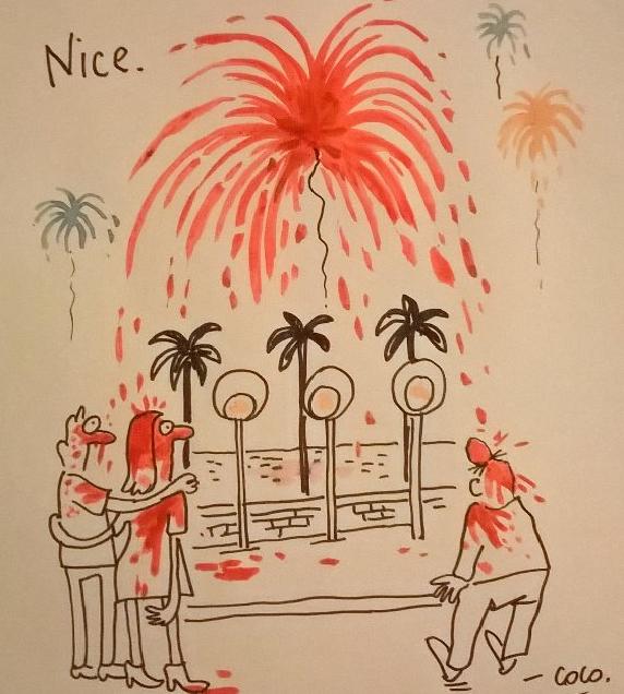 Charlie Hebdo Nice 2016