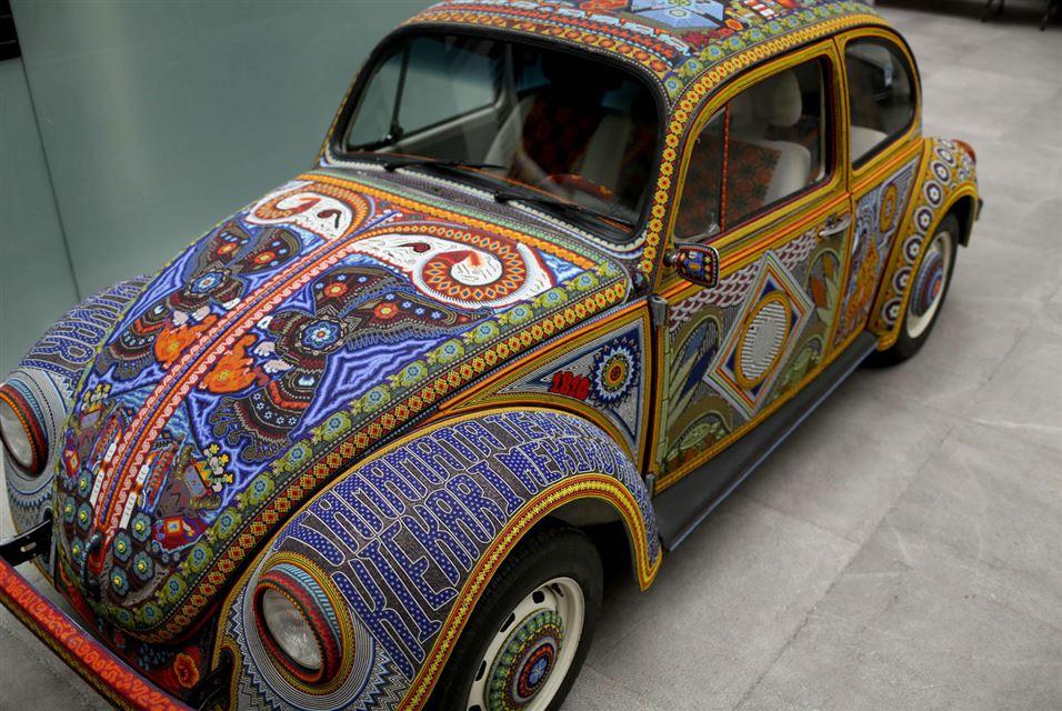 Volkswagen Beetle in Mexican Folk Taste