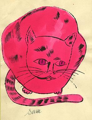 Andy Warhol, ca. 1954