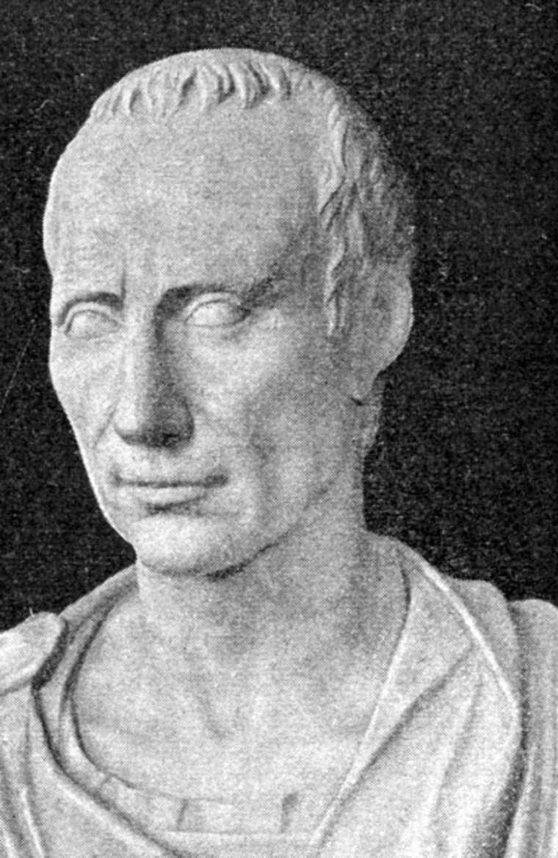 Gaius Iulius Caesar after Posthumous Mask