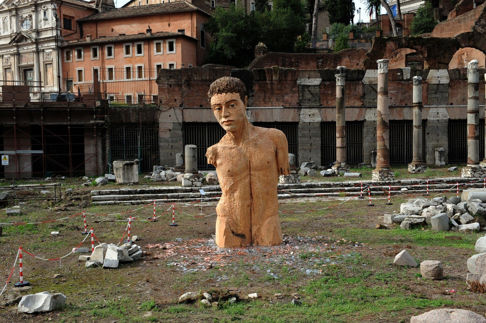 Stephan Balkenhol  Bal Cesars at Forum-Rome