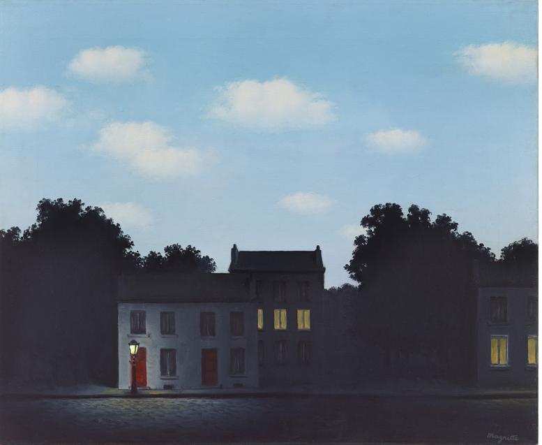 René Magritte, L'Empire des Lumières, 1949