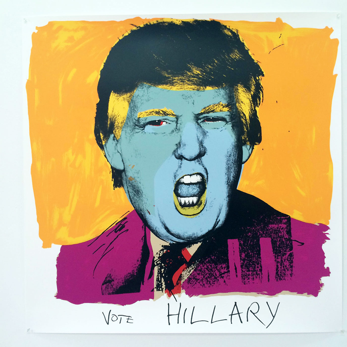 DeborahKass. Vote Hillary