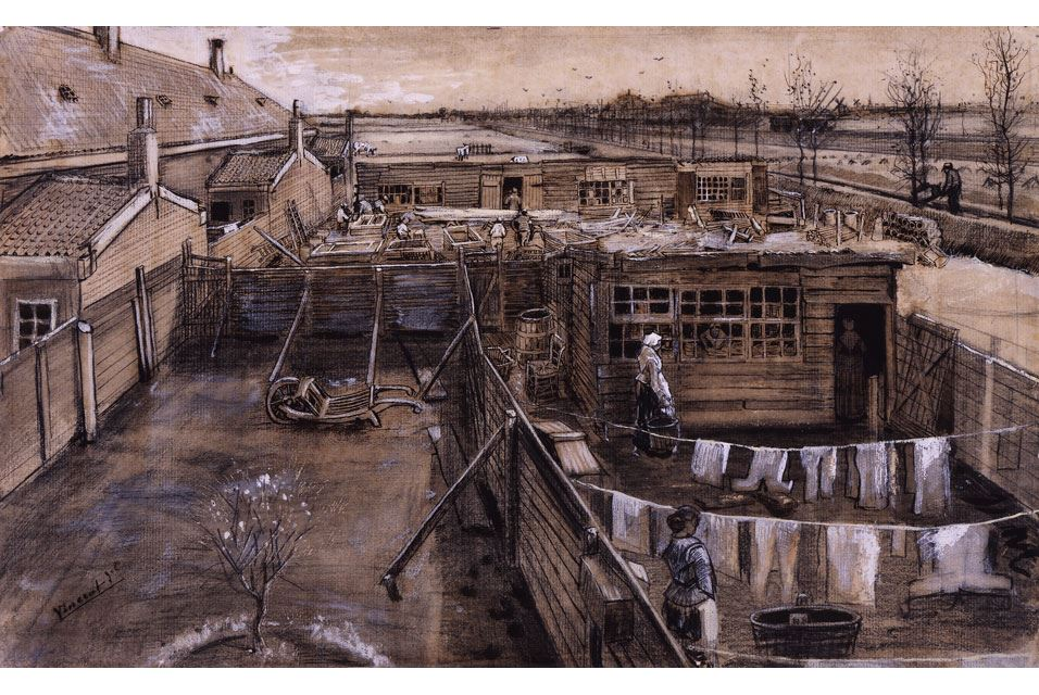 Carpenter's Yard and Laundry, late May 1882