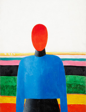 Malevich, Female Torso, 1933