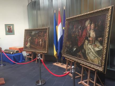 Stolen Dutch Painting 1