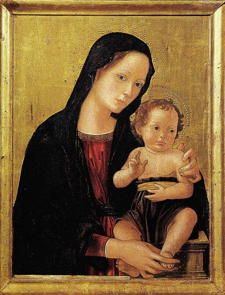 Antonio di Benedetto Aquilio degli Aquili. Nicknamed  Antoniazzo Romano, work period 1460-1510