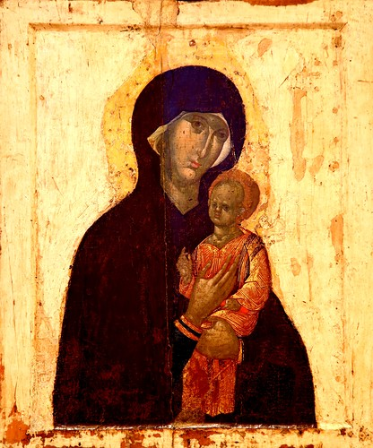 Chudotvornaya Pimenovskaya 14 century