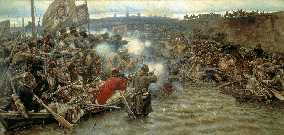 Conquest of Siberia by Ermak