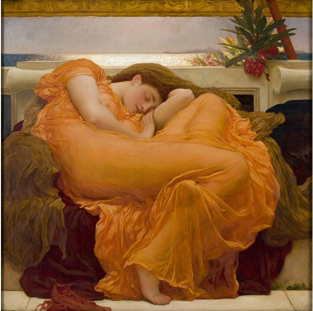Frederic Leighton, Flaming June, 1895