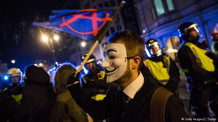 Million Masks March. 5 Nov 2016