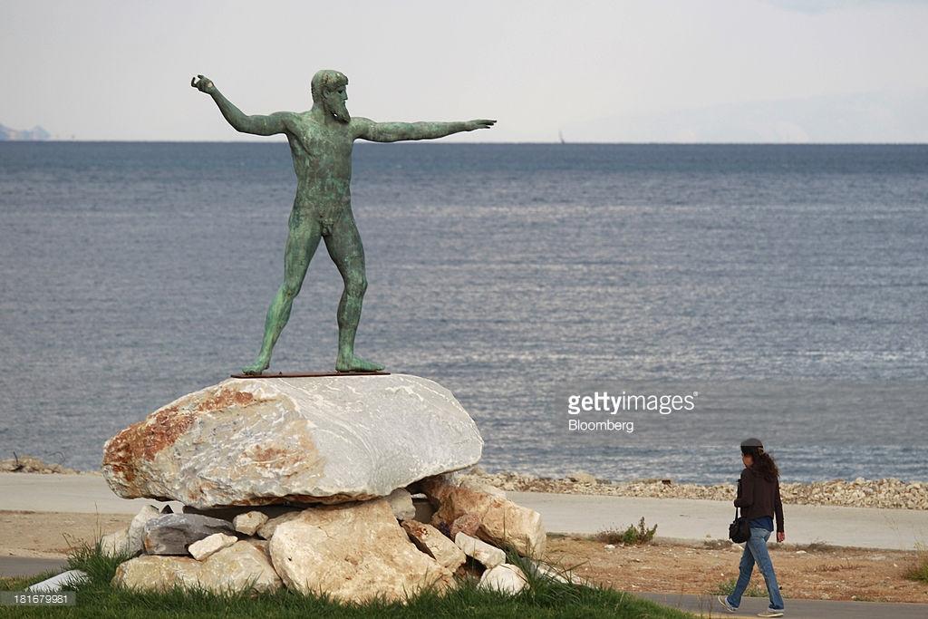 Poseidon in Corinth
