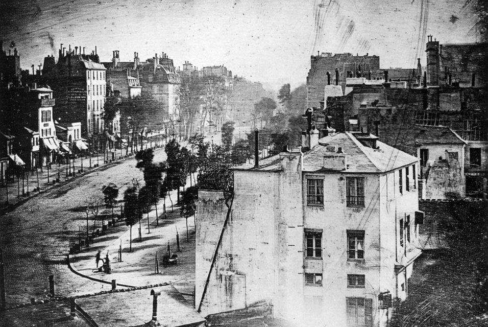 Daguerre Paris 1838