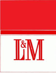 L & M  1