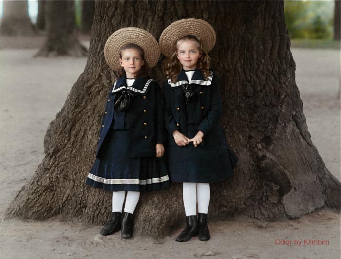 Martyrs and Grand Duchesses Olga  and Tatiana 1