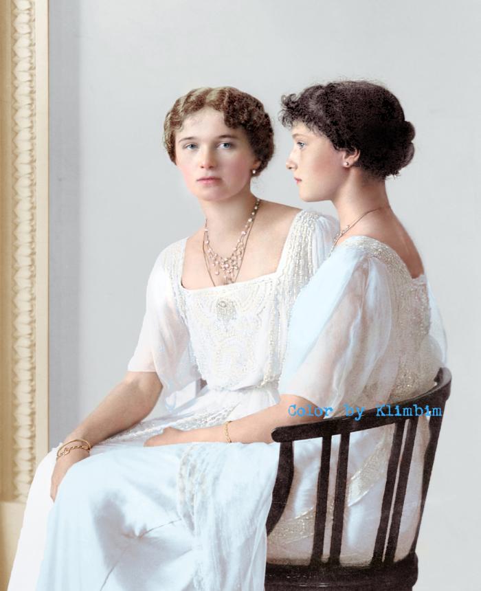 Martyrs and Grand Duchesses Olga  and Tatiana 3