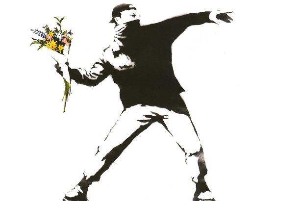 Banksy Bundle Flowers