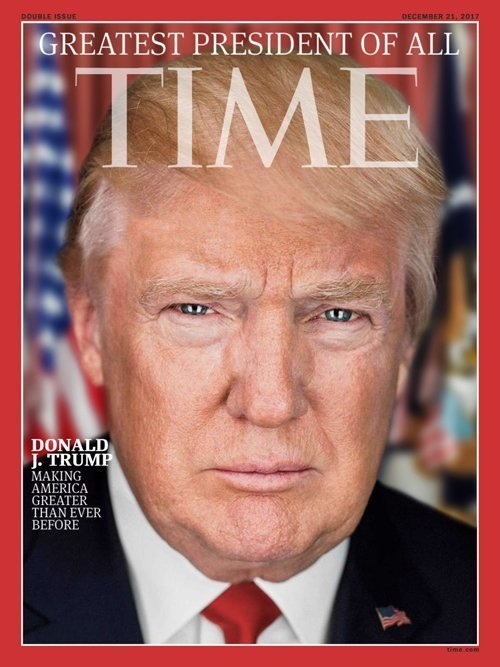 Trump as Peson of the Year 2