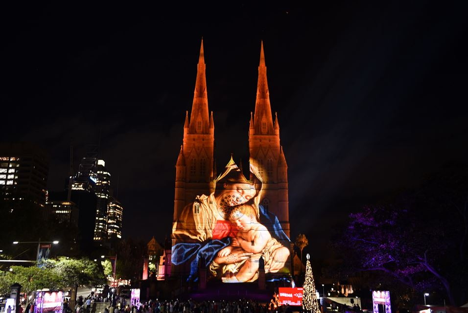 St Mary's Cathedral, Sydney, December 9, 2016