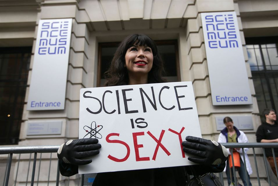 Science is Sexy. London, Science Museum,April 22 2017