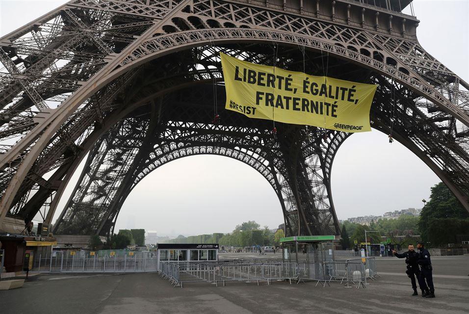 Eiffel Tower Paris May 5 2017