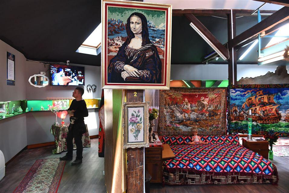 Kitsch Museum. Bucharest. Interior