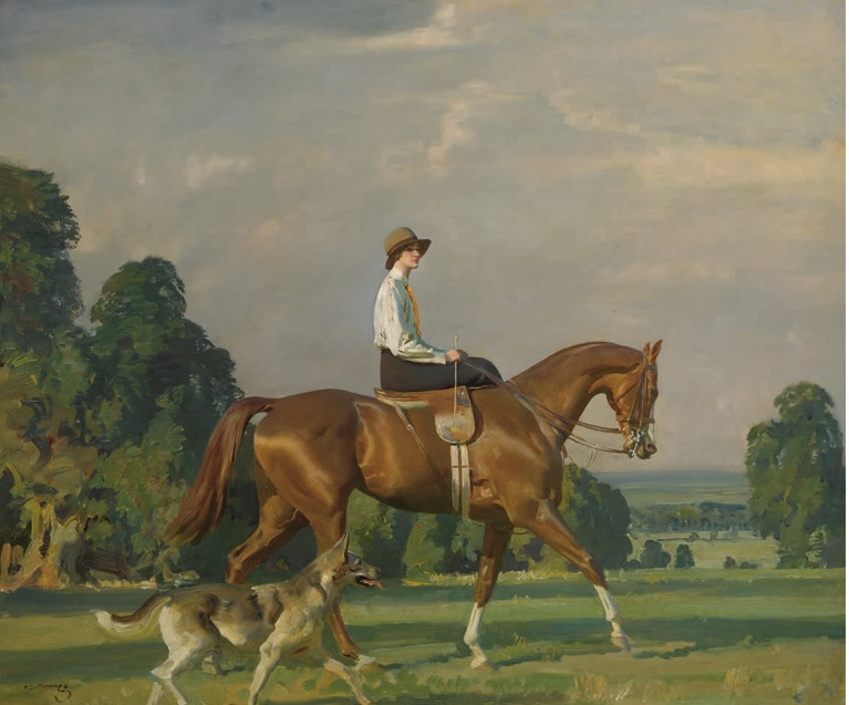Munnings, Portrait of Miss Ruth Brady
