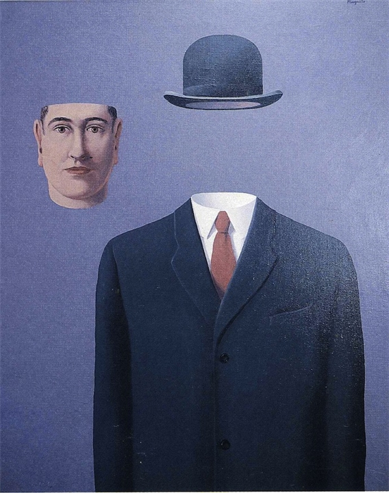 Surrealism by Rene Magritt