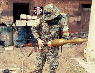 """СОВЕТСКОГО ПРОИЗВОДСТВА """"УБИЙЦА ТАНКОВ"""" В СИРИИ"""