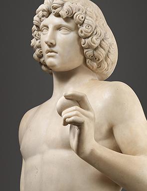 Tullio Lombardo (Italian, ca. 1455–1532), Adam, ca. 1490–95 (detail), marble, The Metropolitan Museum of Art, New York,