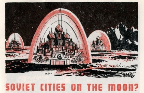 Soviet Cities on the Moon