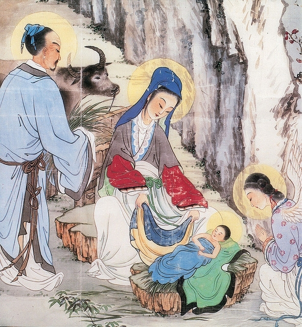 Japan nativity