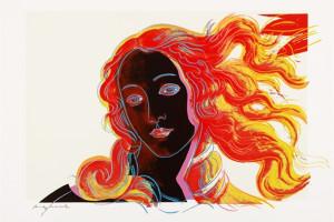 Andy Warhol (American, 1928-1987), Details of Renaissance Paintings (Sandro Botticelli, Birth of Venus, 1482), 1984.