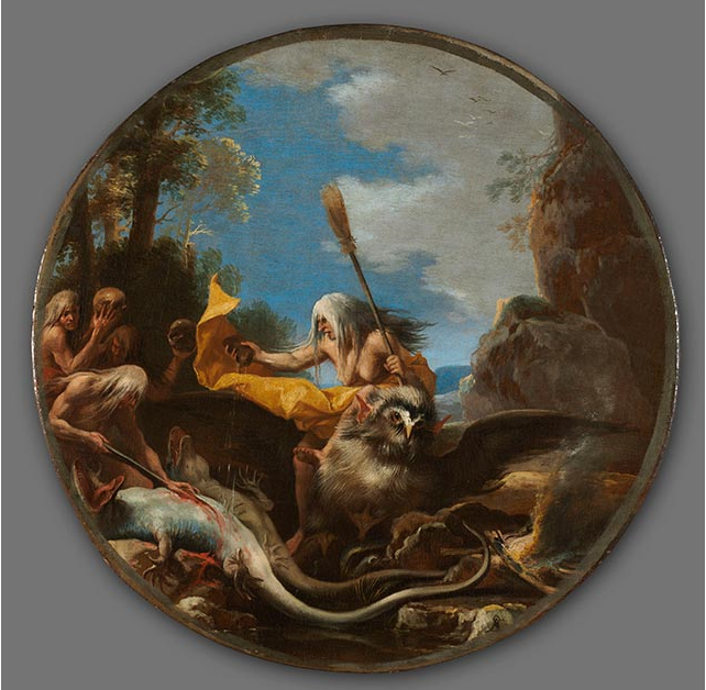 Salvator Rosa Italian 1615–1673 Scenes of Witchcraft Day about 1645–49