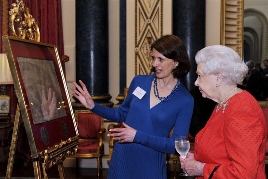 Magna Carta in Buckingham Palace