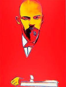 Andy Warhol Red Lenin