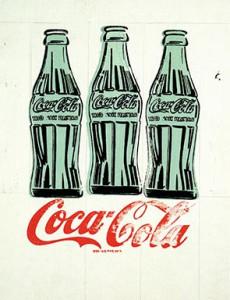 Andy Warhol (American, 1928–1987), Three Coke Bottles, 1962